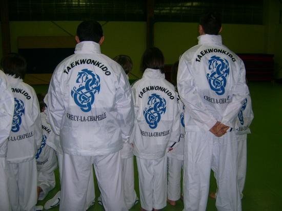 CLUB DE TAEKWONKIDO DE CRECY LA CHAPELLE